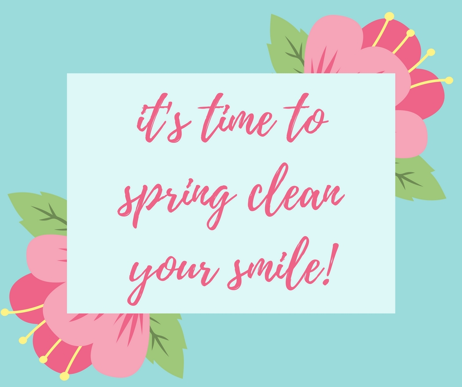 It S Time To Spring Clean Your Smile Tulsa Sand